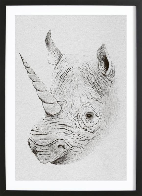 Rhinoplasty -Bild mit Holzrahmen