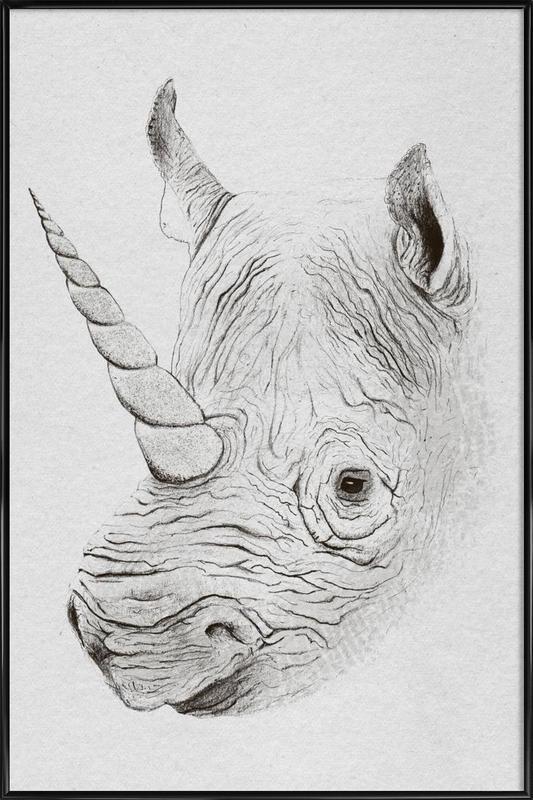 Rhinoplasty -Bild mit Kunststoffrahmen