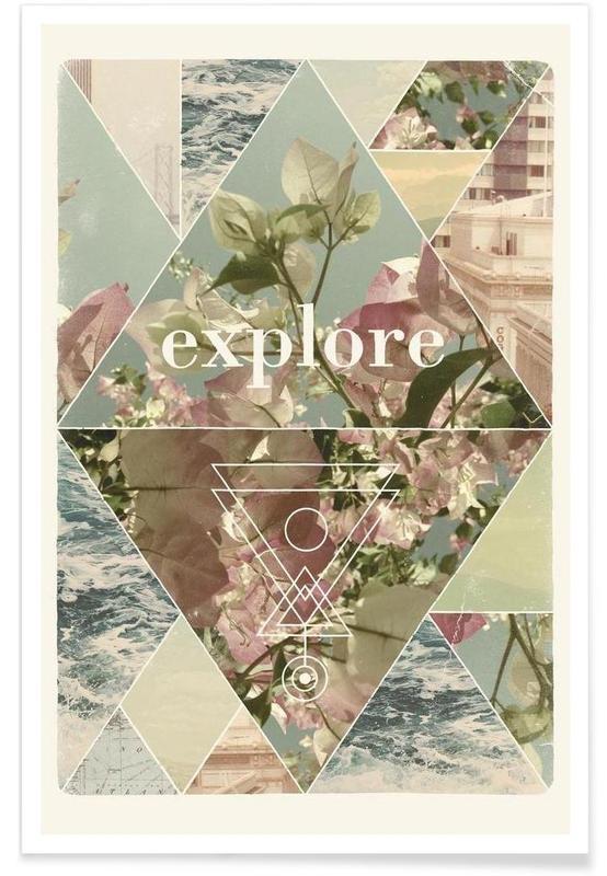Voyages, Explore I affiche