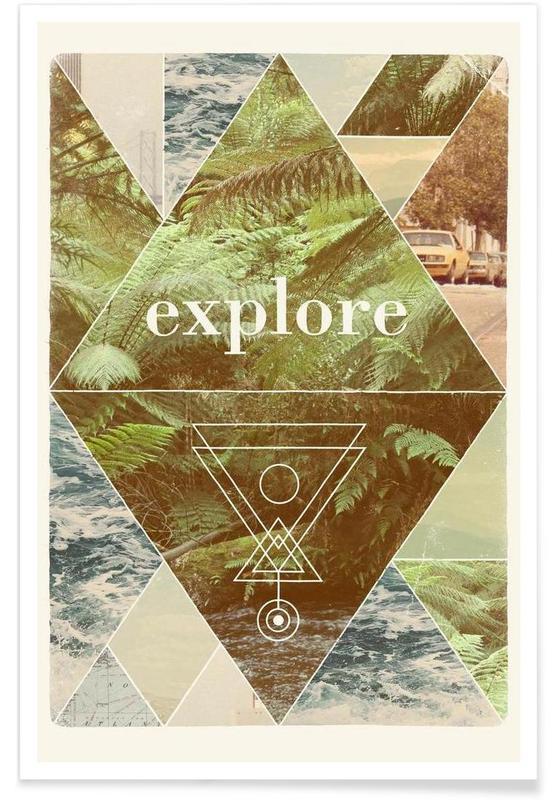 Motivation, Voyages, Explore II affiche