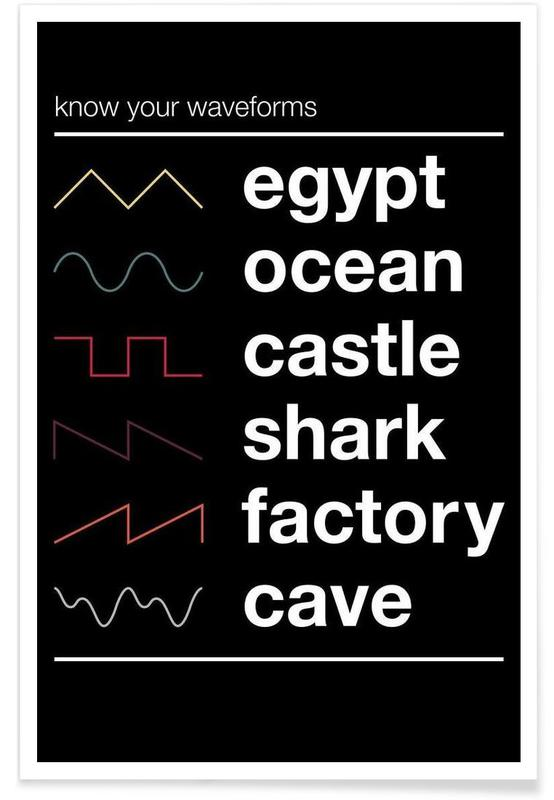Know Your Waveforms Poster