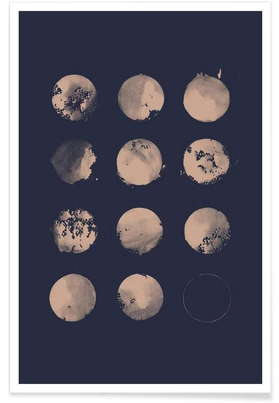 Moon, Twelve Moons Poster