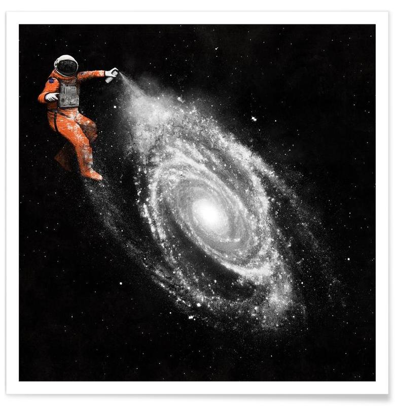Astronautes, Space Art affiche