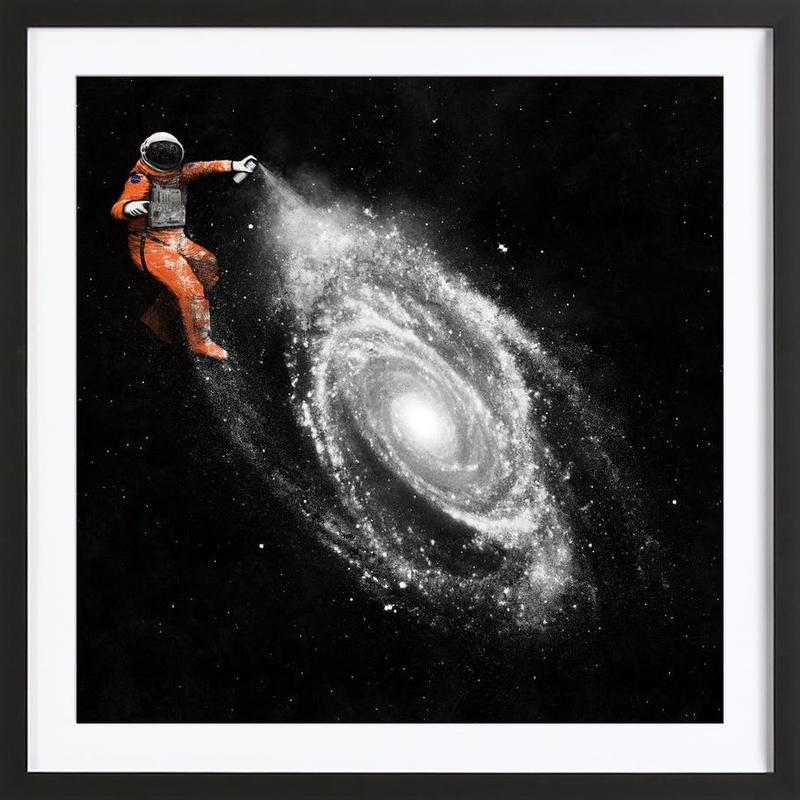 Space Art Framed Print