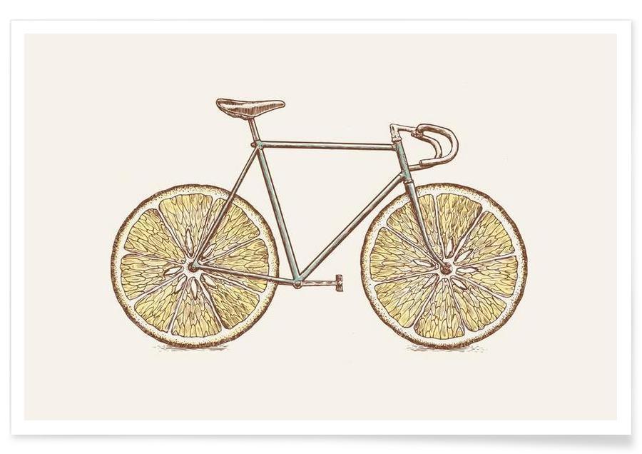 Fahrräder, Velocitrus -Poster