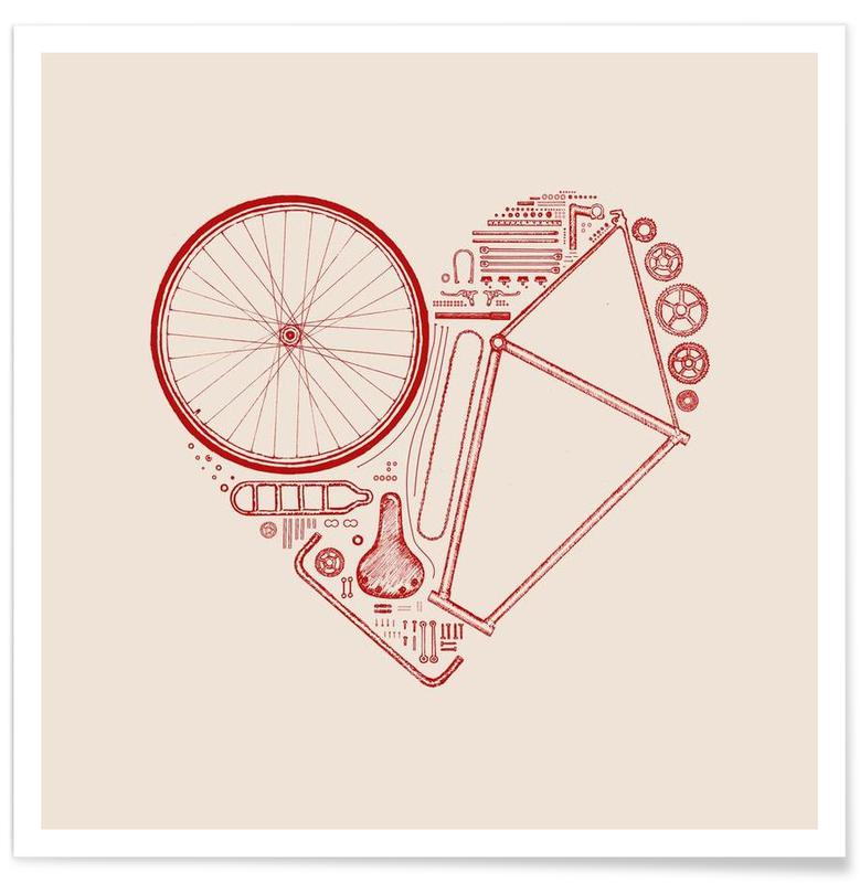 Bicycles, Love Bike 2 Poster