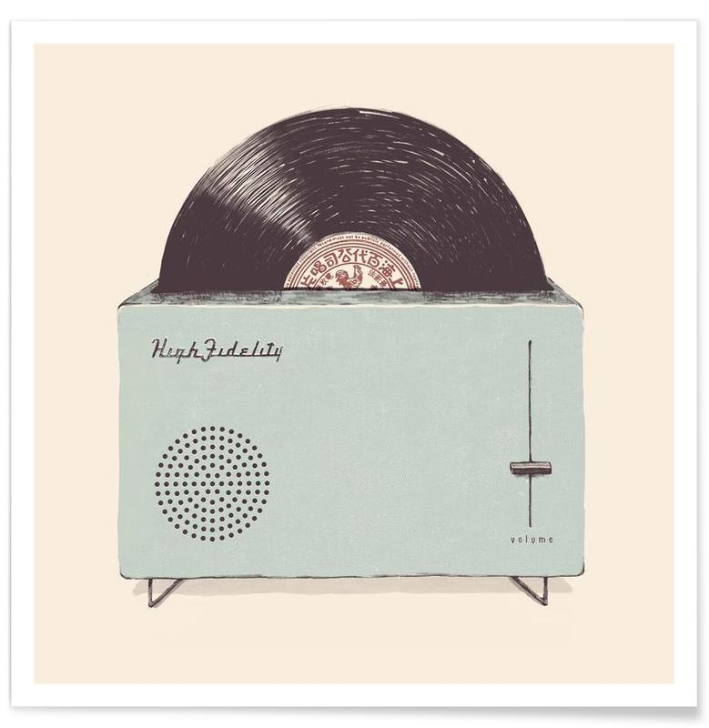 High Fidelity Toaster affiche