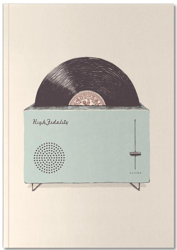 High Fidelity Toaster Notebook