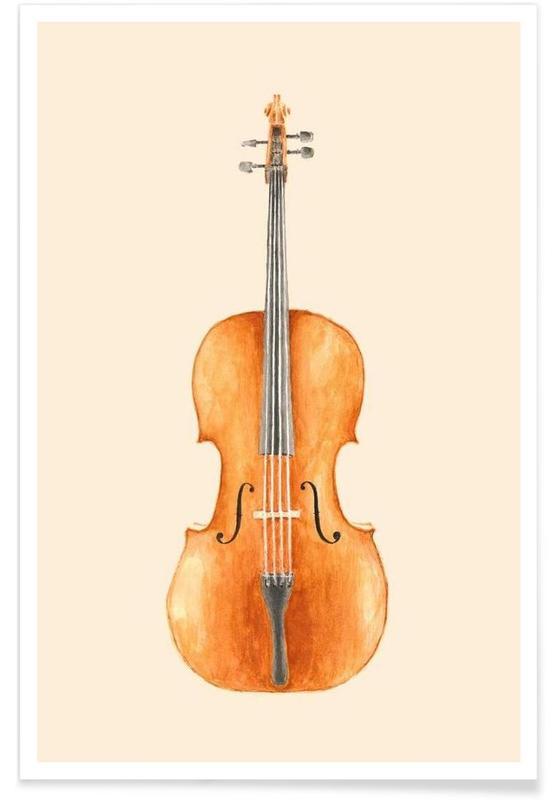 Classical, Cello Poster