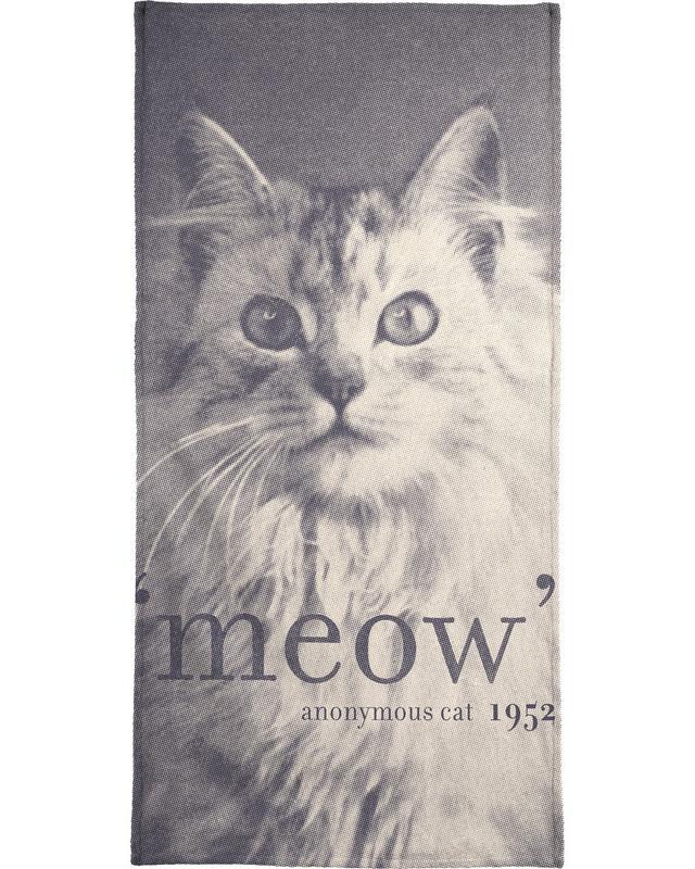 Famous Quote - Cat Bath Towel