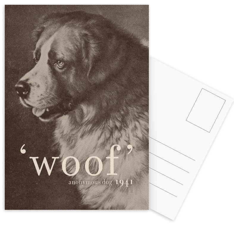 Famous Quote - Dog Postcard Set