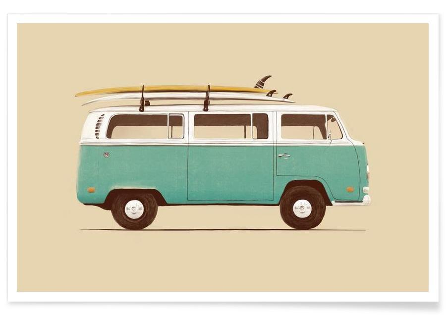 Biler, Blue Van Plakat