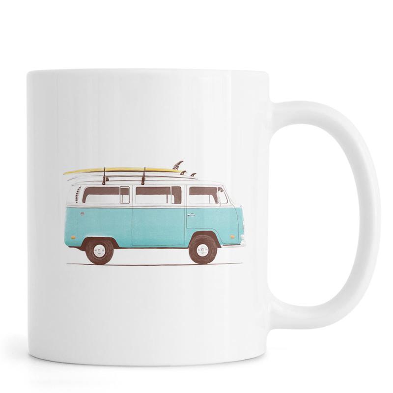 Blue Van mug