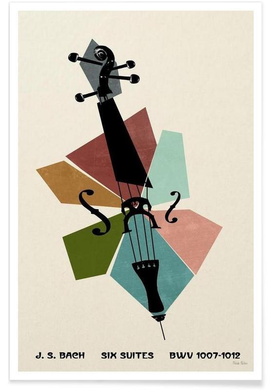 Bach - Cello Suites Poster