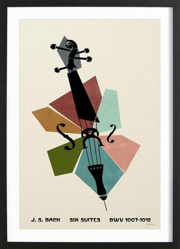 Bach - Cello Suites Framed Print
