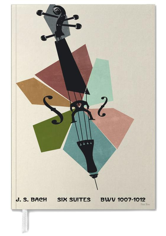 Bach - Cello Suites Personal Planner