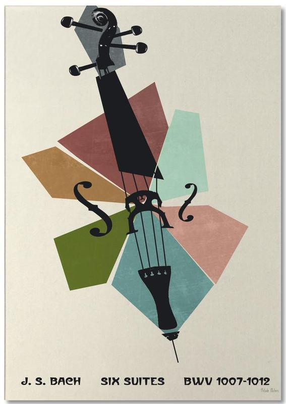 Bach - Cello Suites Notepad