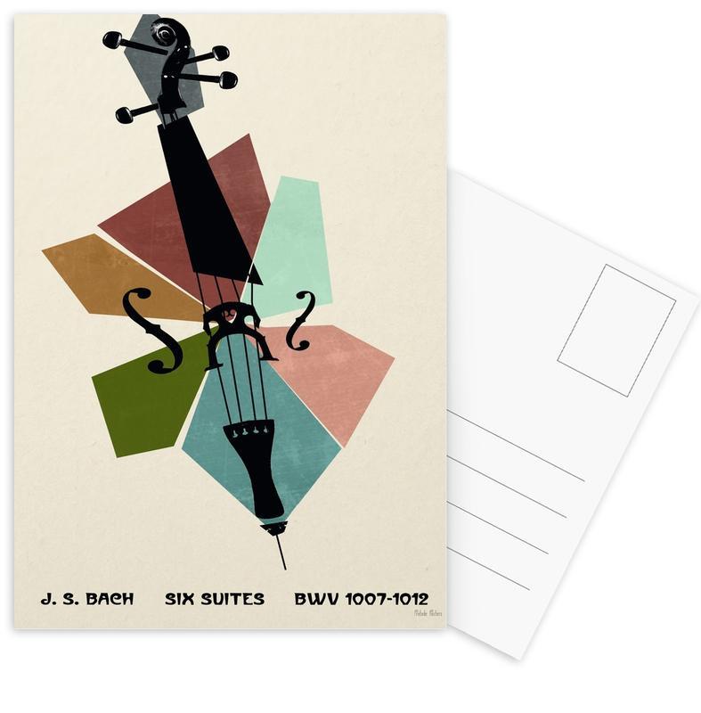 Bach - Cello Suites Postcard Set