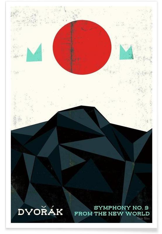 Dvorak - New World Symphony -Poster