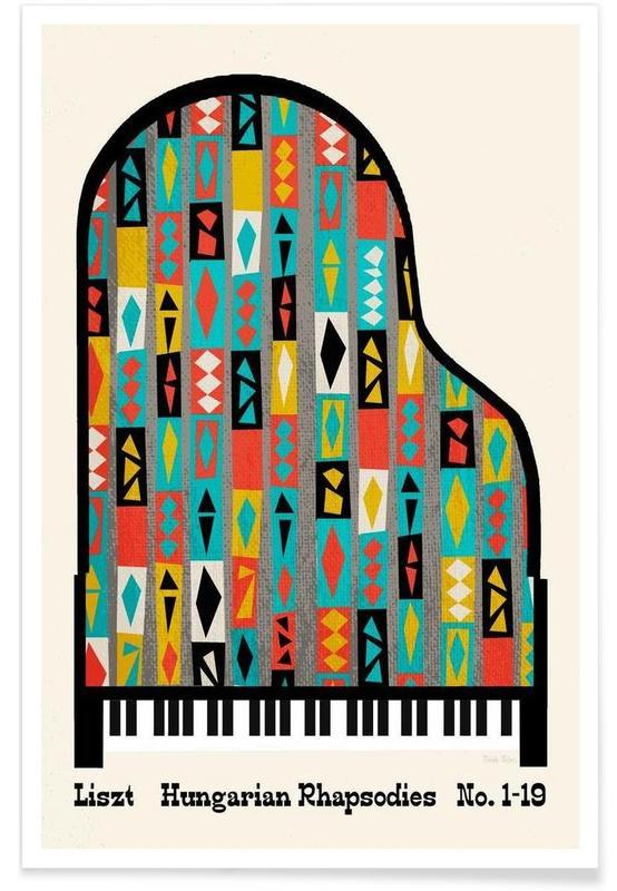 Classique, Liszt - Hungarian Rhapsodies affiche