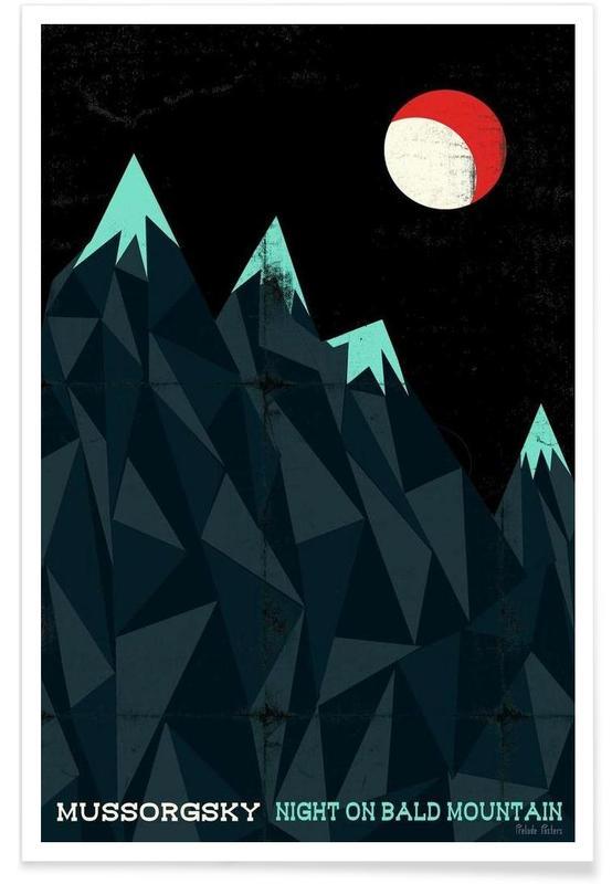 Mussorgsky - Night on Bald Mountain affiche