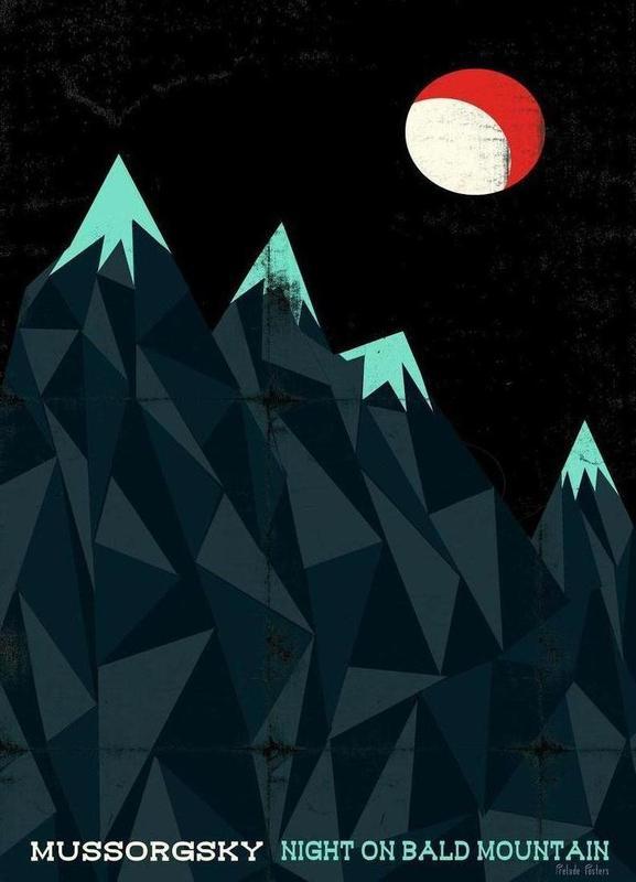 Mussorgsky - Night on Bald Mountain toile