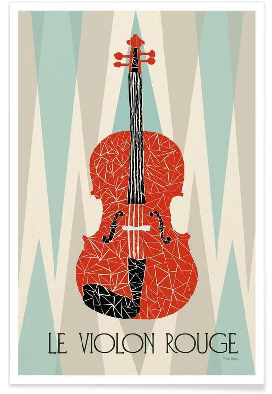 Classique, Violon Rouge affiche