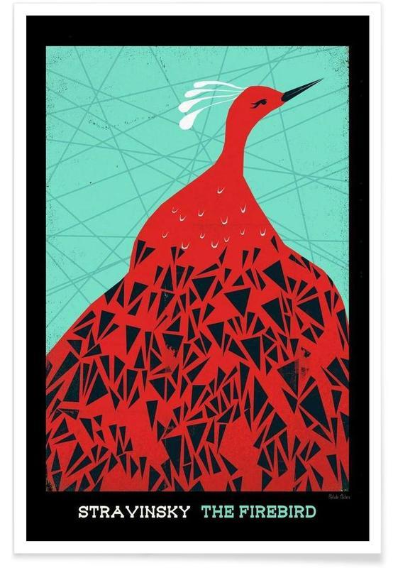 Stravinsky - Firebird -Poster