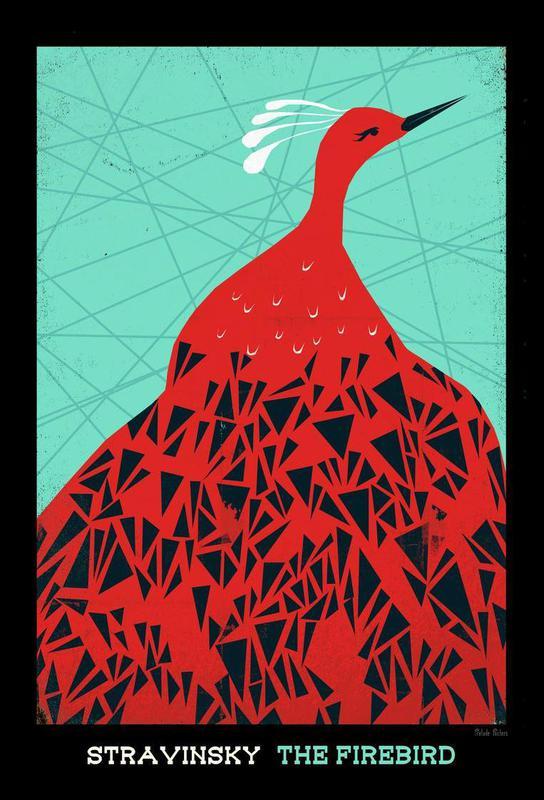Stravinsky - Firebird acrylglas print