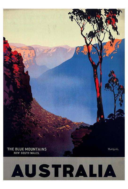 australia1 Aluminium Print