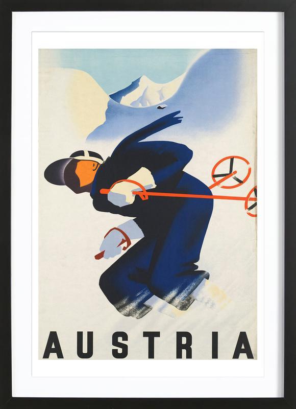 austria2 Framed Print