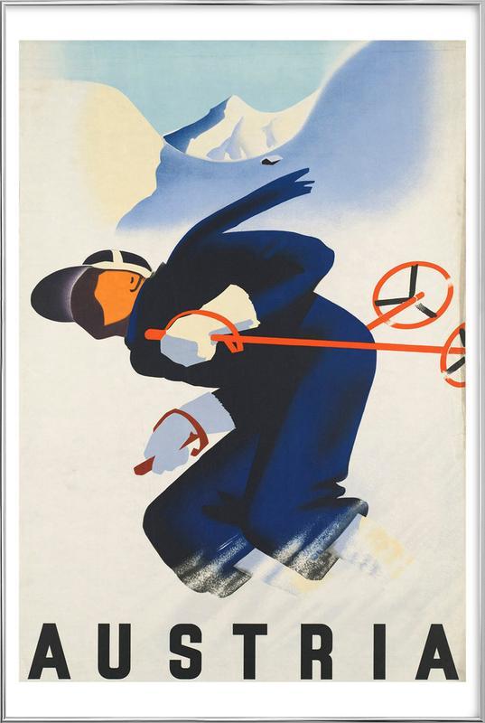 austria2 Poster in Aluminium Frame