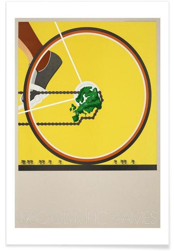 Vélos, Vintage, bike1 affiche