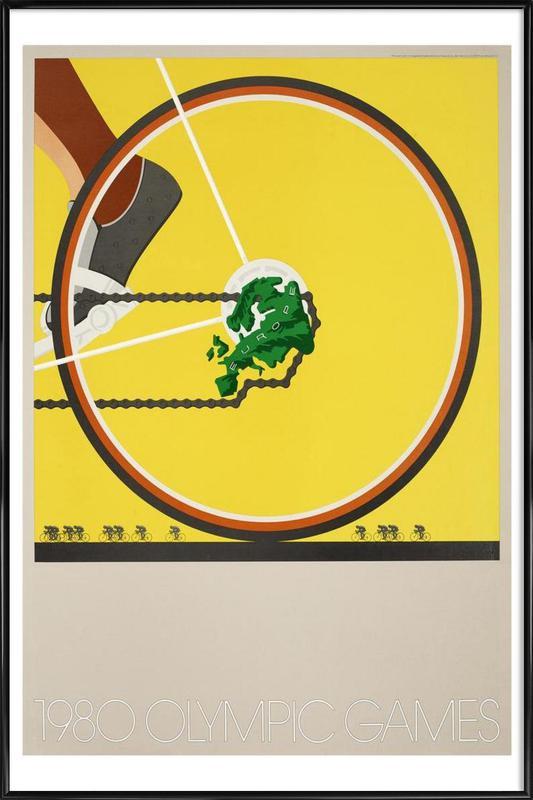 bike1 Framed Poster