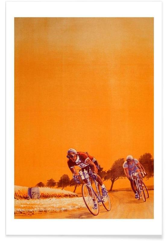 Cyclisme, bike2 affiche