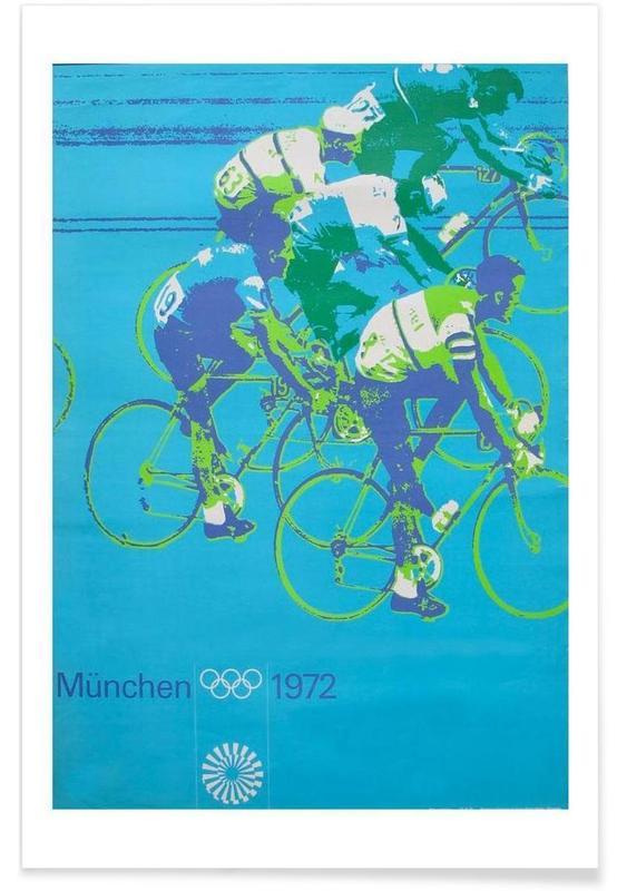 Cyclisme, bike4 affiche