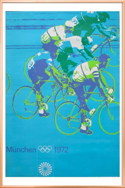 bike4 Poster in Aluminium Frame