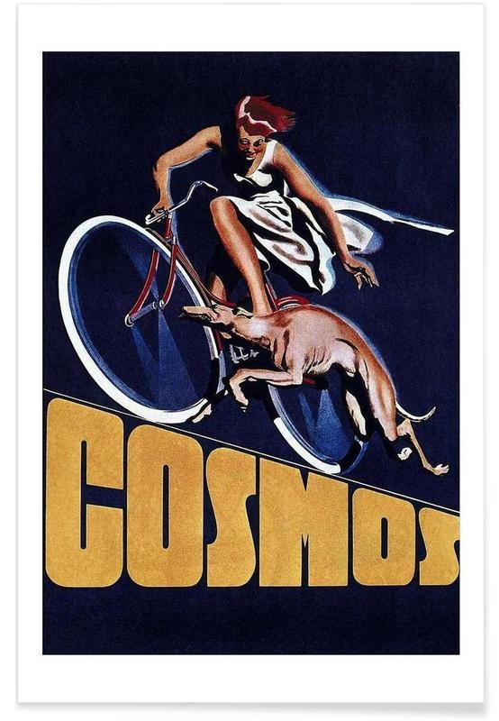 Cyclisme, Vintage, Vélos, bike8 affiche