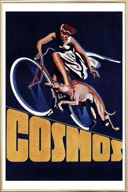 bike8 Poster in Aluminium Frame