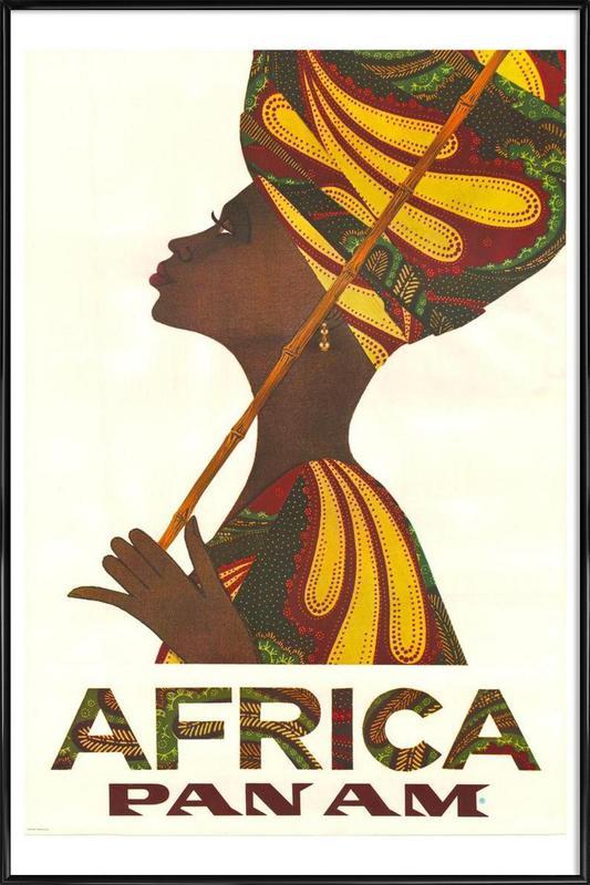 africa3 Framed Poster