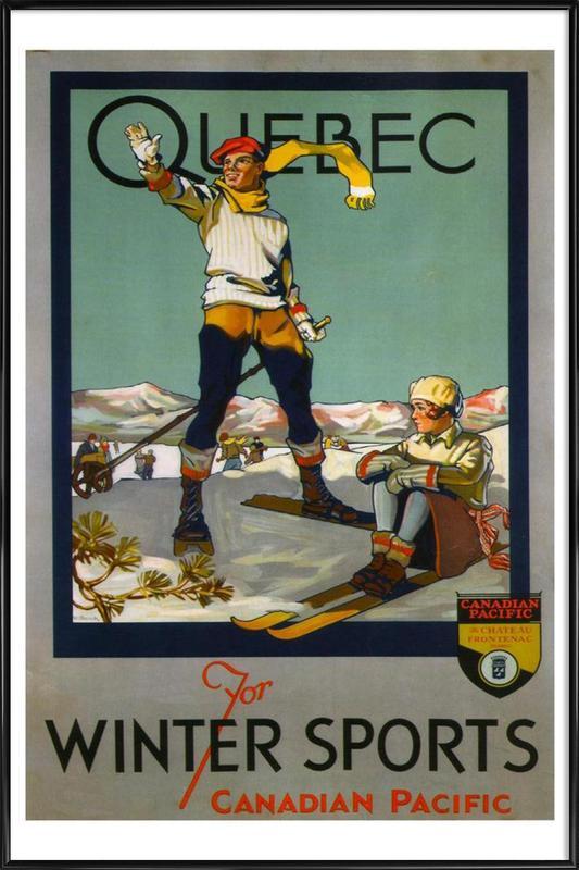 canada4 Framed Poster