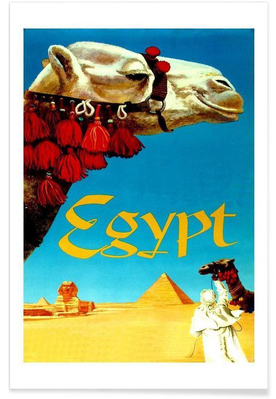 Reizen, egypt1 poster