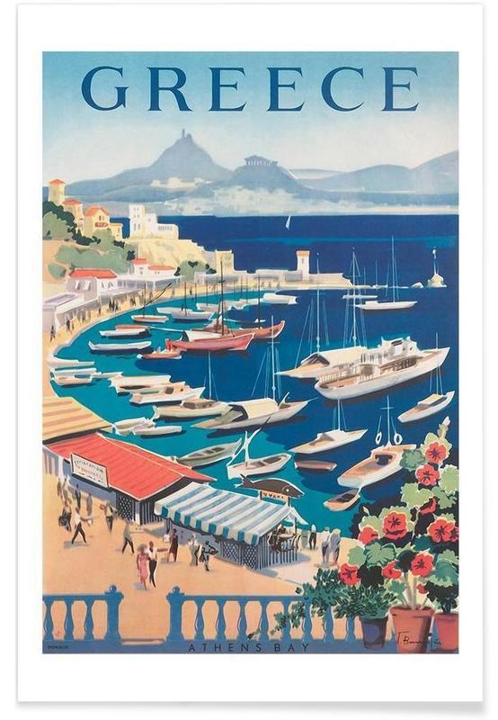 Voyages, Vintage, greece2 affiche