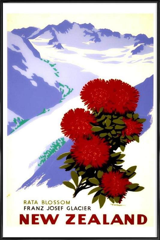 newzealand2 ingelijste poster