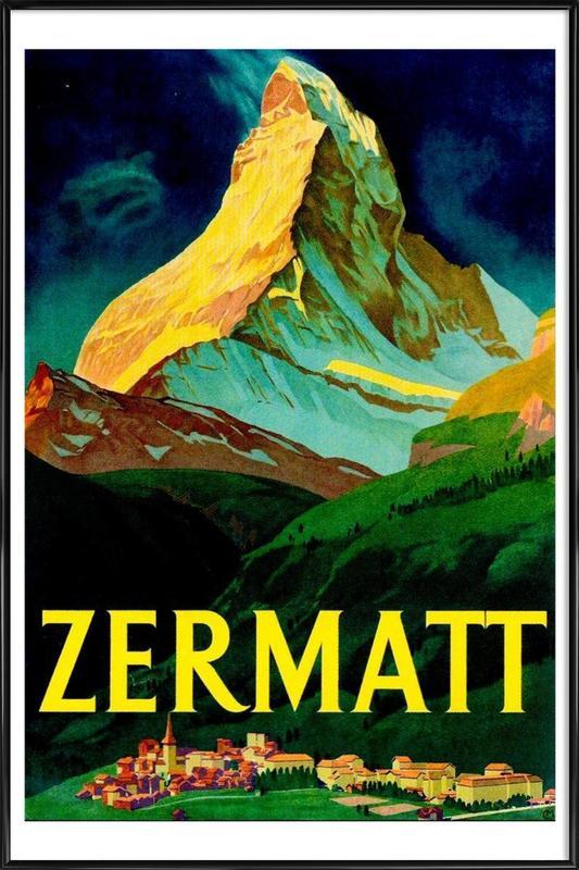 switzerland Framed Poster