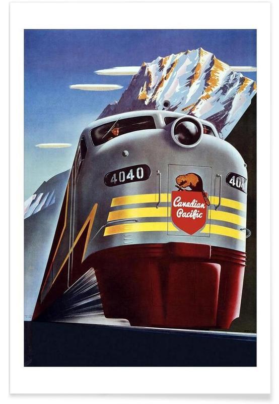 train affiche