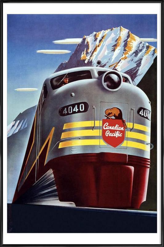 train Framed Poster