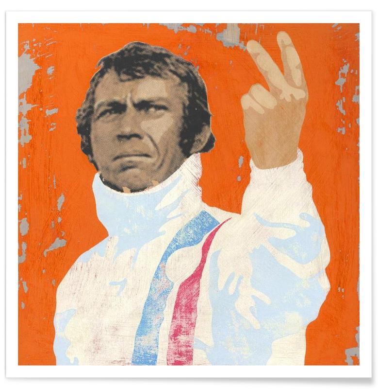Steve McQueen -Poster