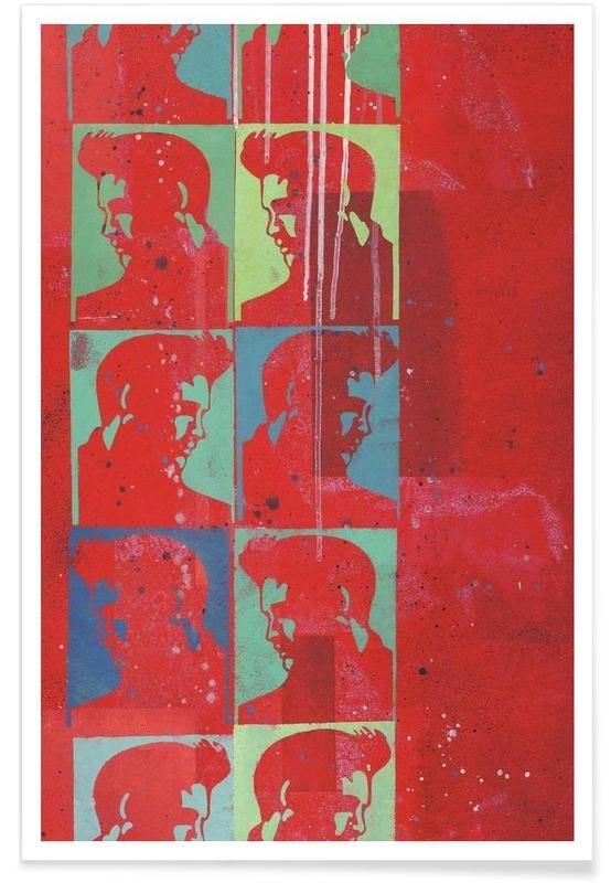 Elvis, Elvis Presley Blues -Poster