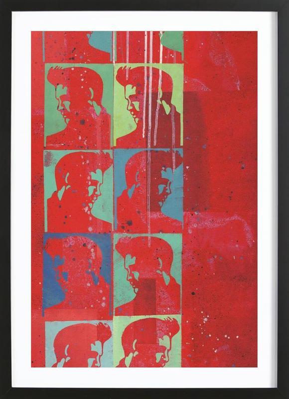 Elvis Presley Blues Framed Print